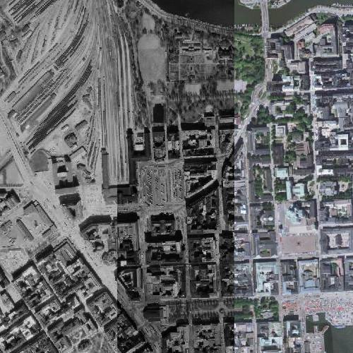 Helsinki Ilmakuvina 1932 2014